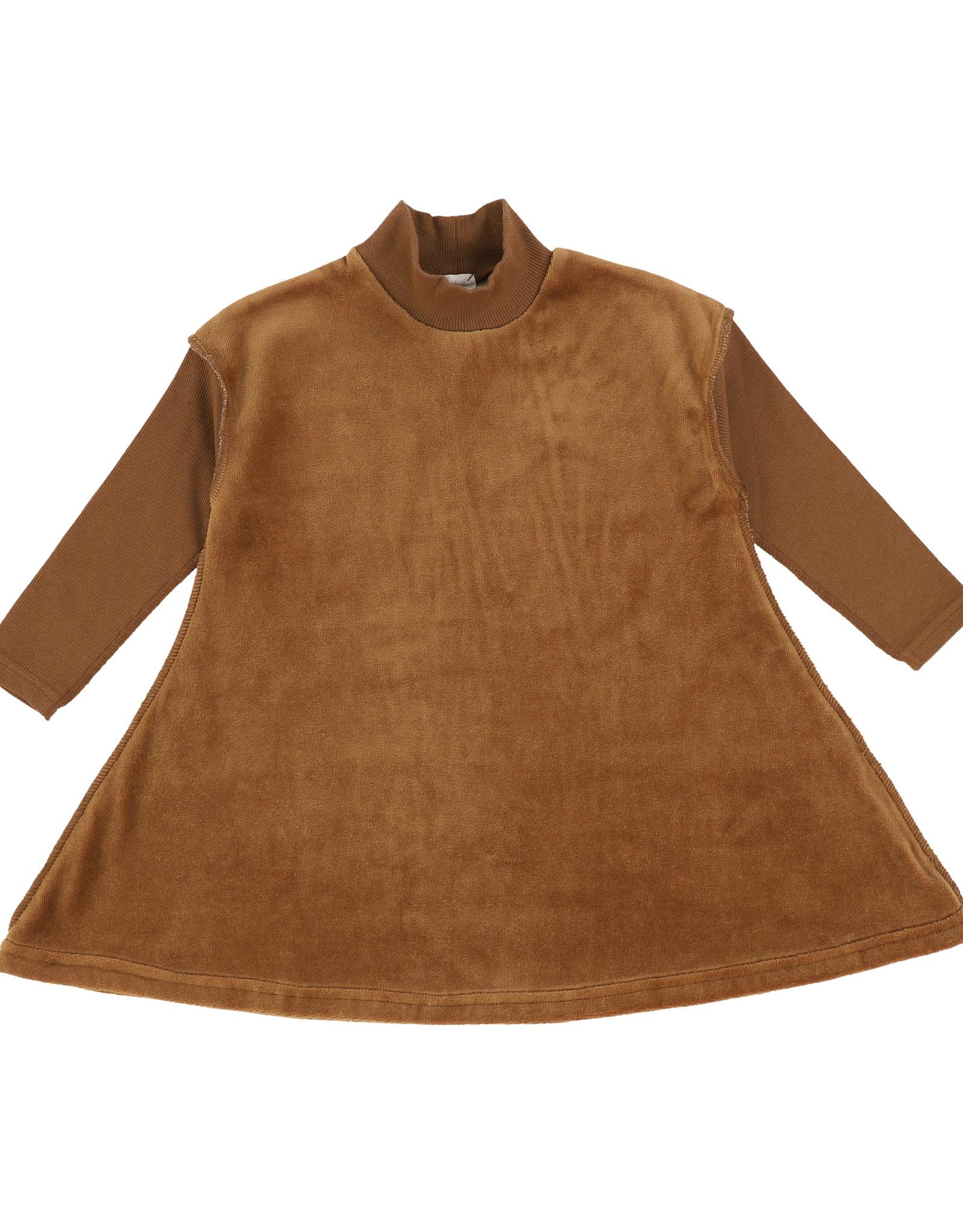 Analogie Analogie Velour Dress