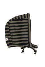 LIL LEGS FW21 Stripe Classic Ribbed Bonnet