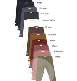LIL LEGS FW21 Cotton Leggings Fashion Colors