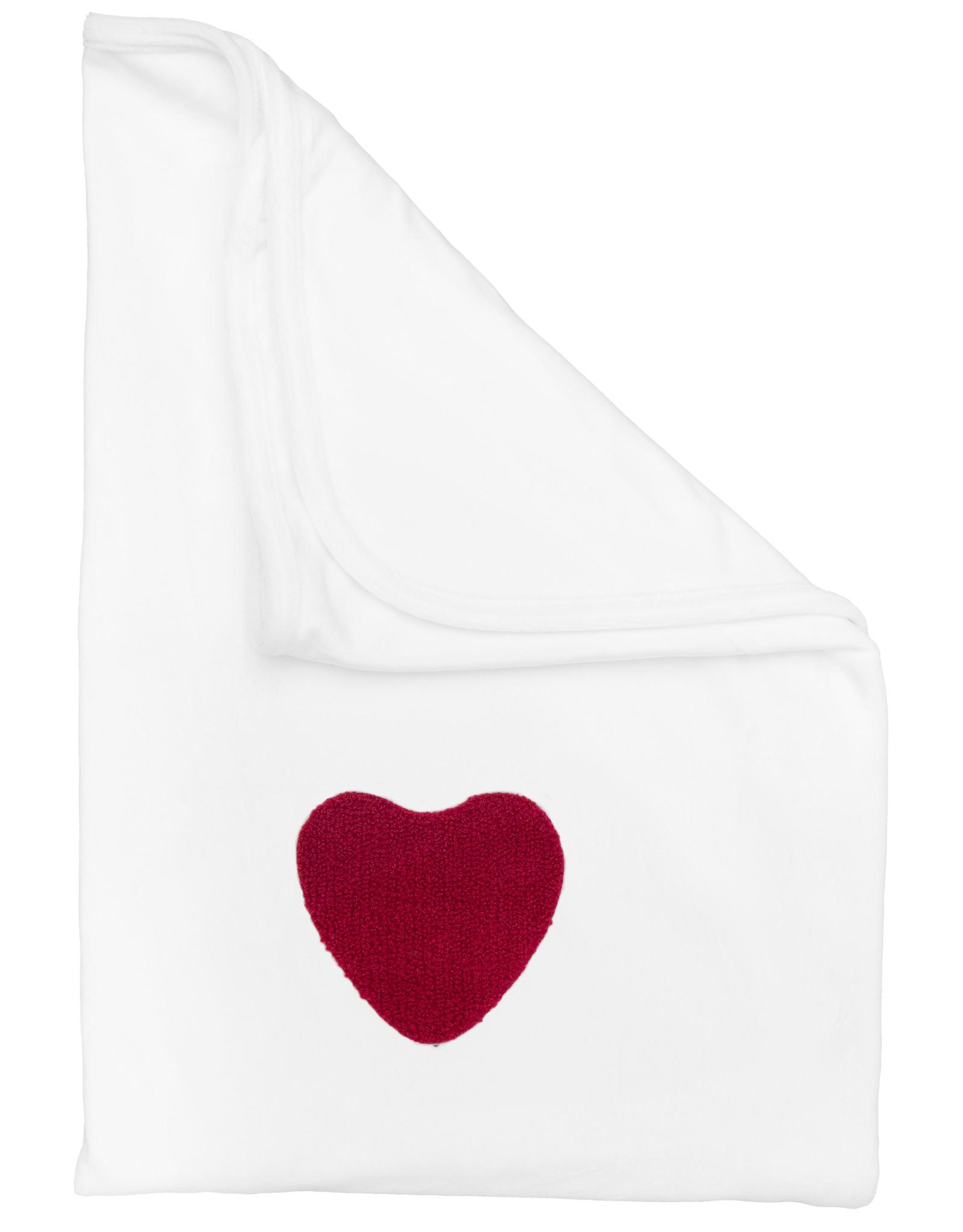 Noggi Noggi Tipped Heart/Star Blanket