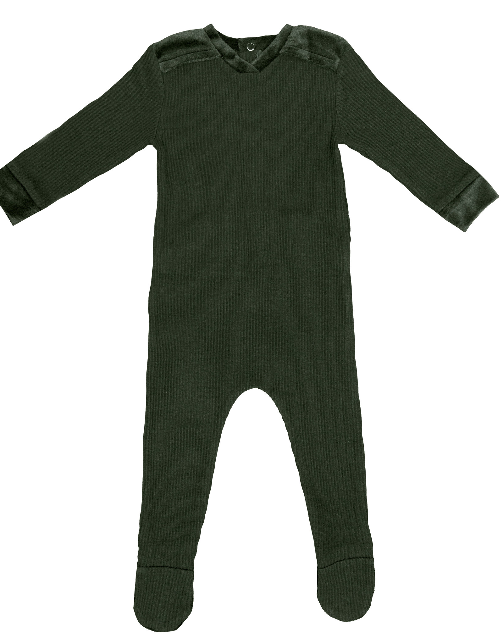 Noggi Noggi Shoulder Detail Footie Pajama
