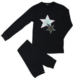 Noggi Noggi Patched Heart/Star Pajama