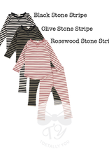 LIL LEGS FW21 Striped Ribbed Set
