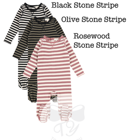 LIL LEGS FW21 Stripe Classic Ribbed Footie