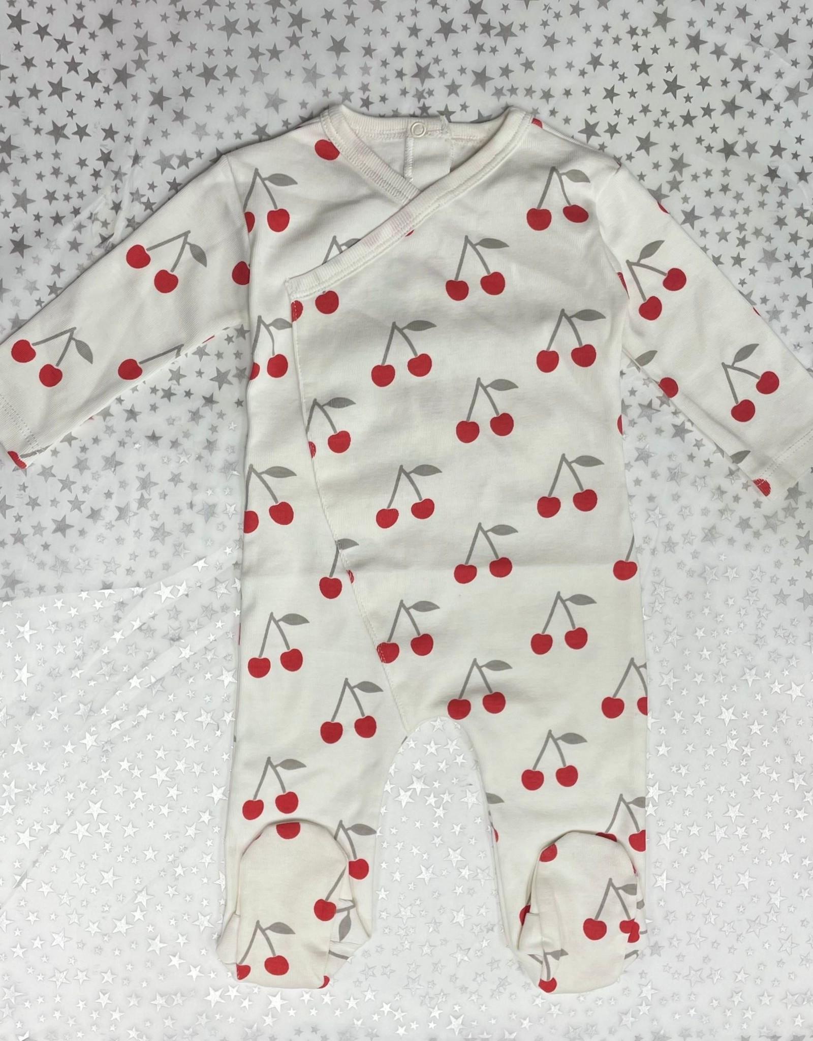 Cotton PomPom Cotton PomPom Cotton Footie with Cherries