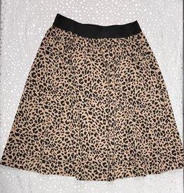 MeMe Basics MeMe Basics Leopard Skirt