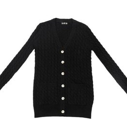 UNCLEAR Unclear Chunky Cable Knit Sweater