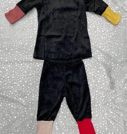 Siccinino Siccinino Velour Quad Cuff Pajama