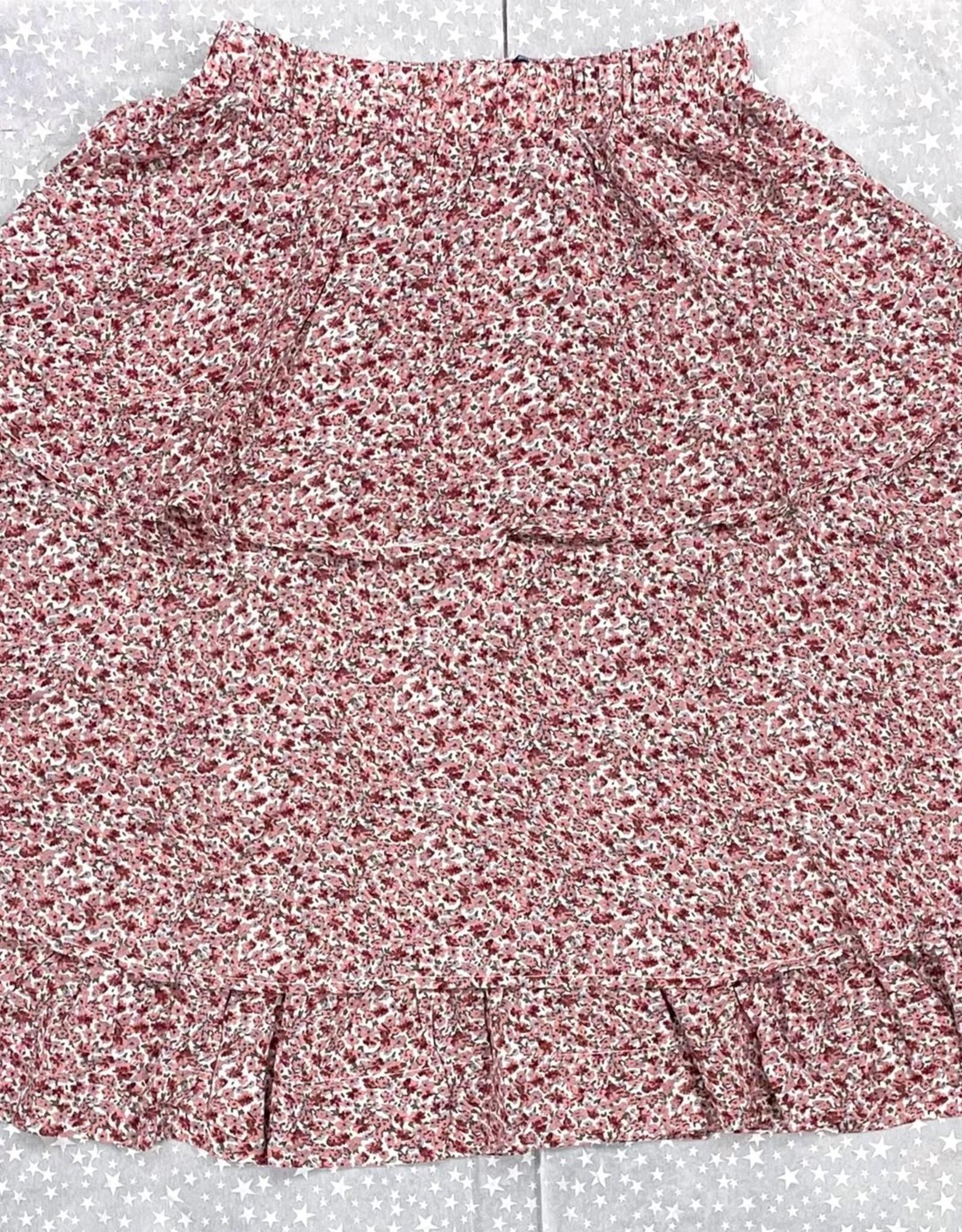 MeMe Teens MeMe Teens Floral Layers Skirt