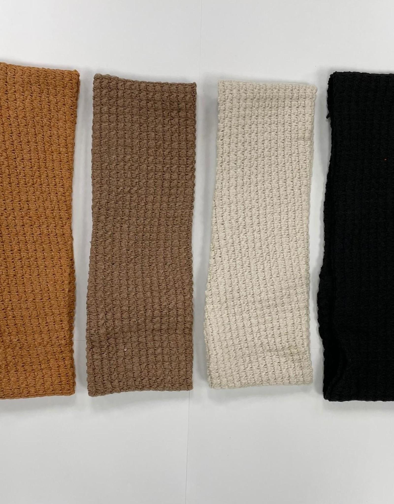 Dacee Dacee Knit Waffle Ladies Headwrap