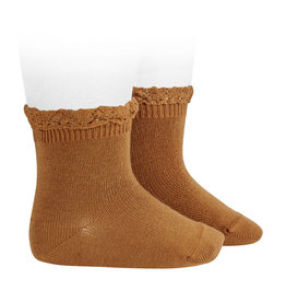 Condor Condor Midcalf Sock with Lace Trim
