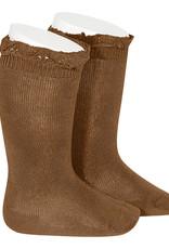 Condor Condor Knee Sock with Lace Trim