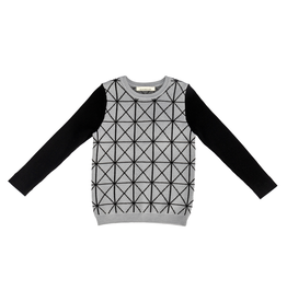 SLICE Slice Tile Knit Sweater