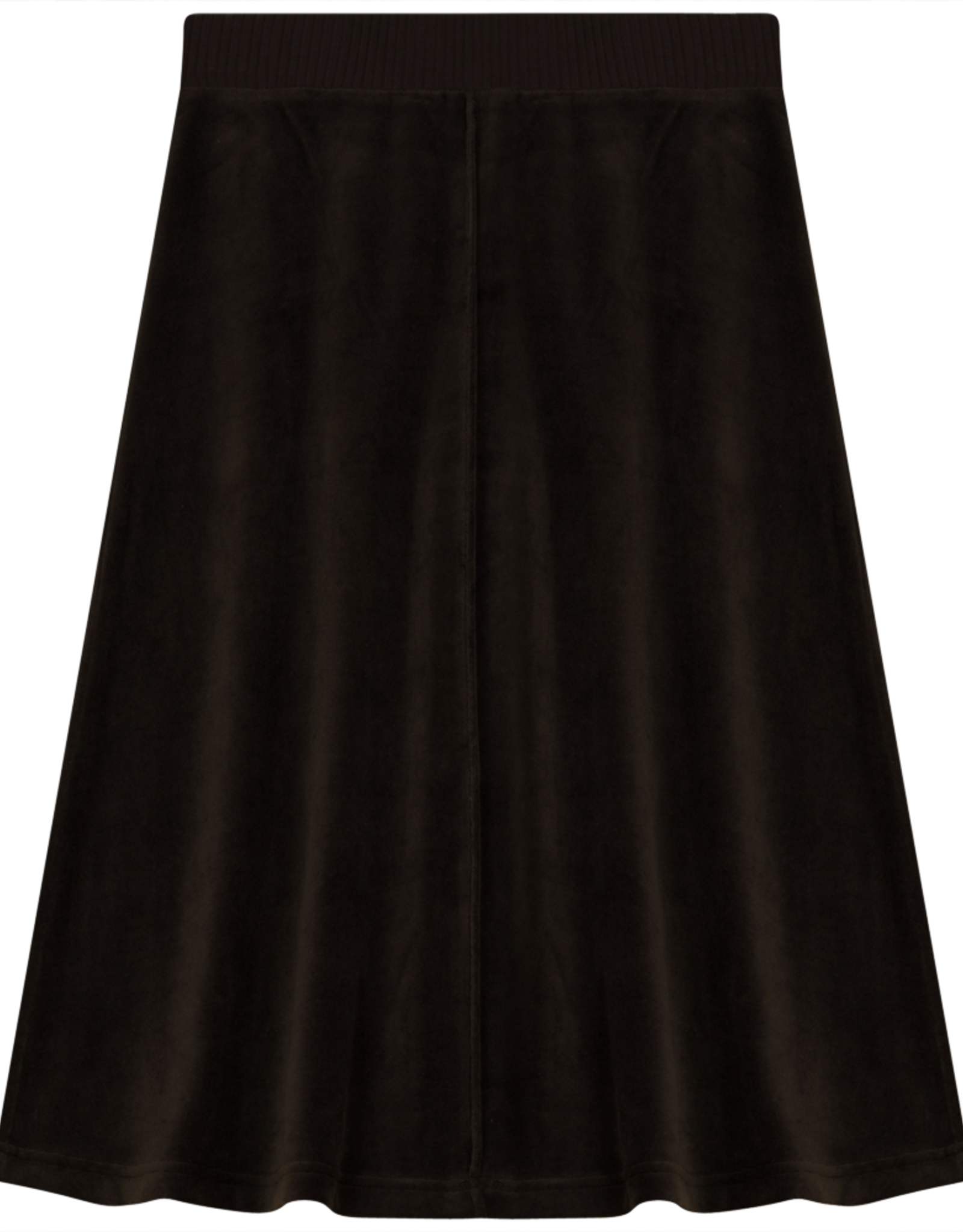 2 Squares 2 Squares Velour Aline Skirt with Ribbed Waist