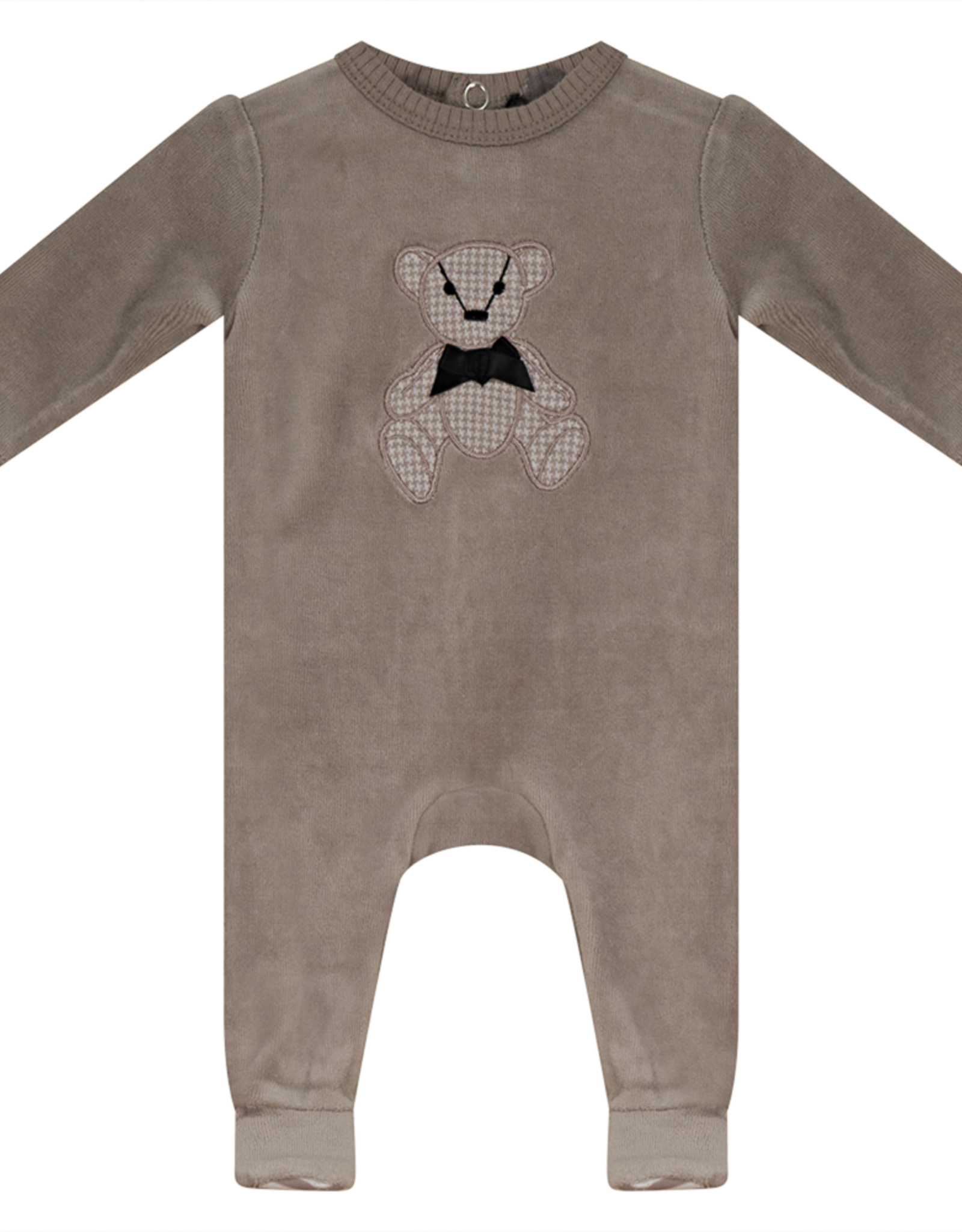 Small Moments Small Moments Teddy Bear Velour Footie