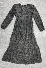 Seal Seal Crinkle Velvet Leopard Print Robe