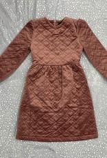 Abigail Abigail Velvet Heart Quilted Dress