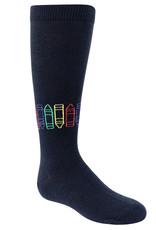 BimBam BimBam Crayon Knee Sock