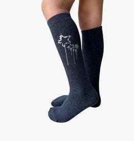 Blinq Blinq Dripping Star Knee Sock