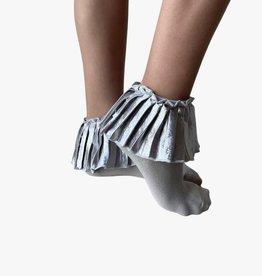 Blinq Blinq Metallic Pleated Anklet