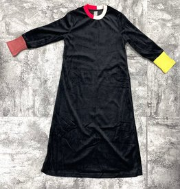 Siccinino Siccinino Velour Quad Cuff Nightgown
