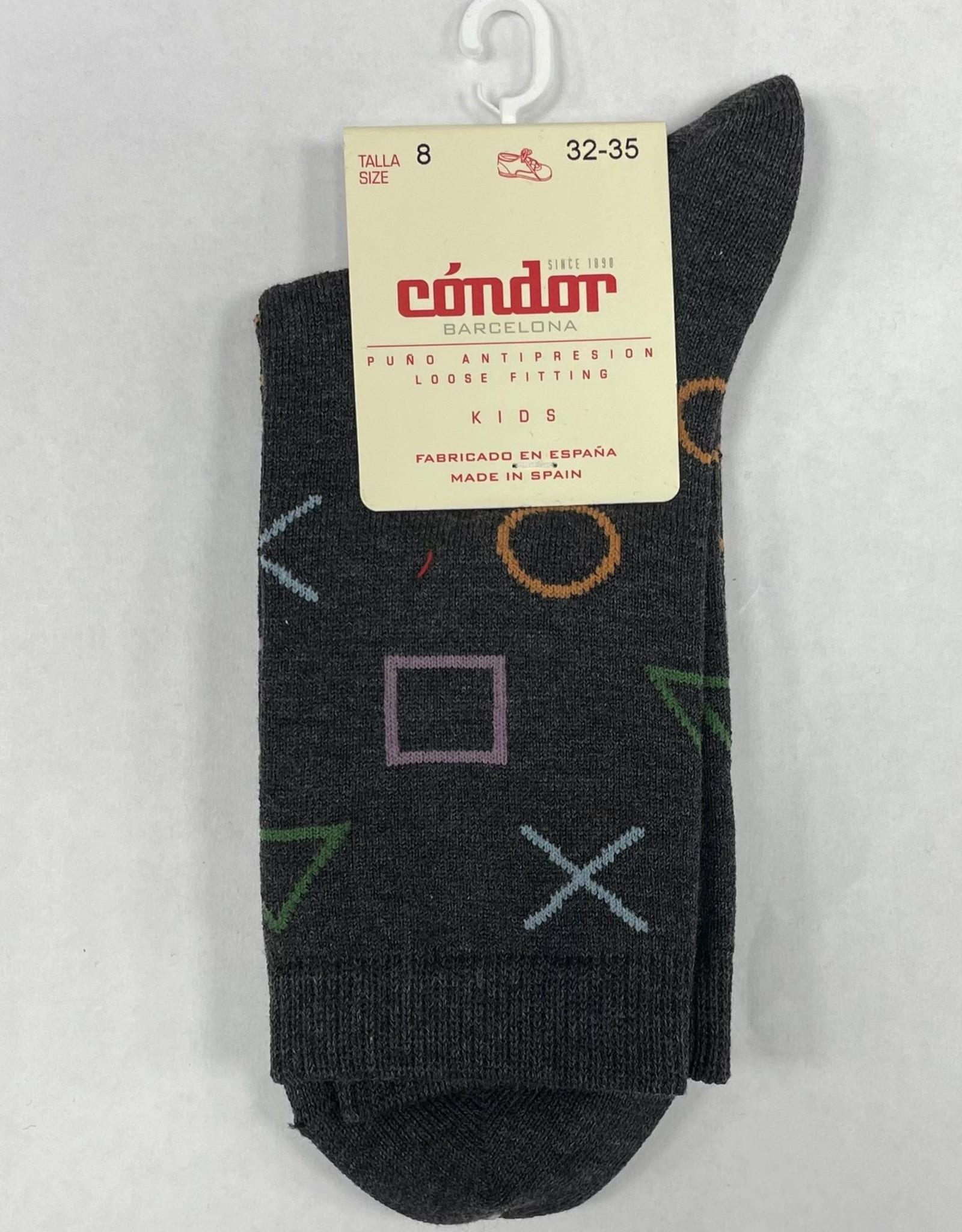 Condor Condor Shapes Print Sock