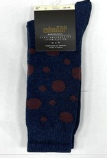 Condor Condor Polka Dot Print Mens Sock