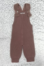 BZZY BZzy Chunky Knit Romper with Mohair Straps