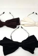 Dacee Dacee Accordion Pleated Knit Bow Headband