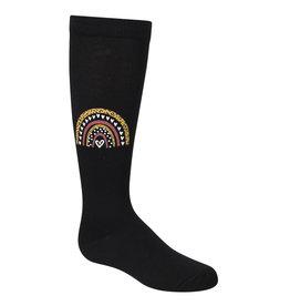 Zubii Zubii Leopard Rainbow Knee Sock