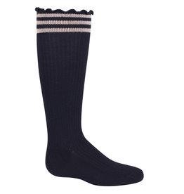 Zubii Zubii Lettuce Lined Knee Sock