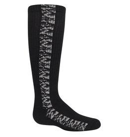 Zubii Zubii Linear Print Knee Sock