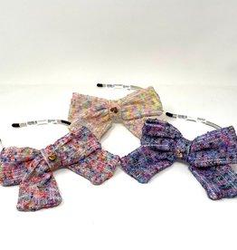M&M M&M Confetti Bow Headband