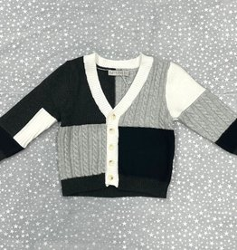 N18 N18 Cable and Rib Combo Knit Cardigan