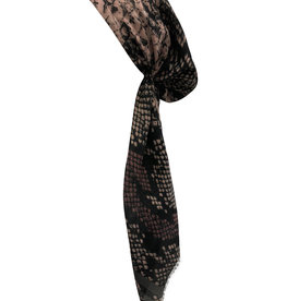 Dacee Dacee Snake Pre-Tied Headscarf with Velvet