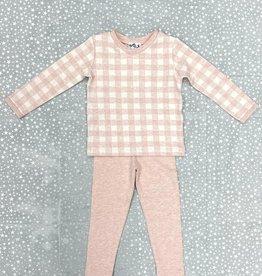 Milk Milk Checkered Pajamas