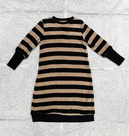 Tikie Studio Tikie Studio Chenille Striped Dress