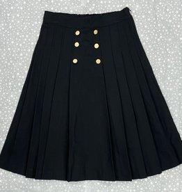 YSBS YSBS 6 Button Knit Pleated Skirt