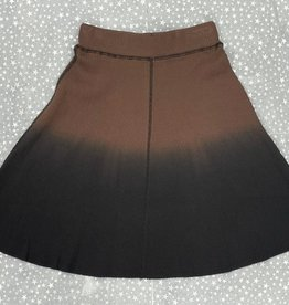 BRB BRB Ribbed 2 Tone Aline Skirt