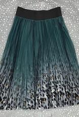 MEE MEE Printed Pleated Skirt
