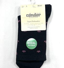 Condor Condor Crown Print Womens Modal Sock