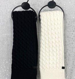 Zubii Zubii Cable Textured Scarf