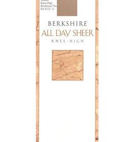 Berkshire Berkshire All Day Sheer Reinforced Toe Knee High