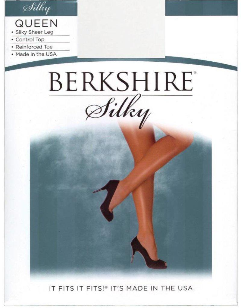 Berkshire Berkshire Queens Silky Sheer Control Top Pantyhose