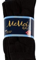 Memoi Memoi Boys Ribbed Cotton Socks 3-Pack