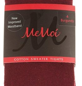 Memoi Memoi Girls Basic Cotton Tights