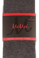 Memoi Memoi Girls Basic Cotton Tights