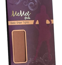 Memoi Memoi Girls Basic Sheer Pantyhose
