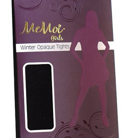 Memoi Memoi Girls Winter Opaque Tights