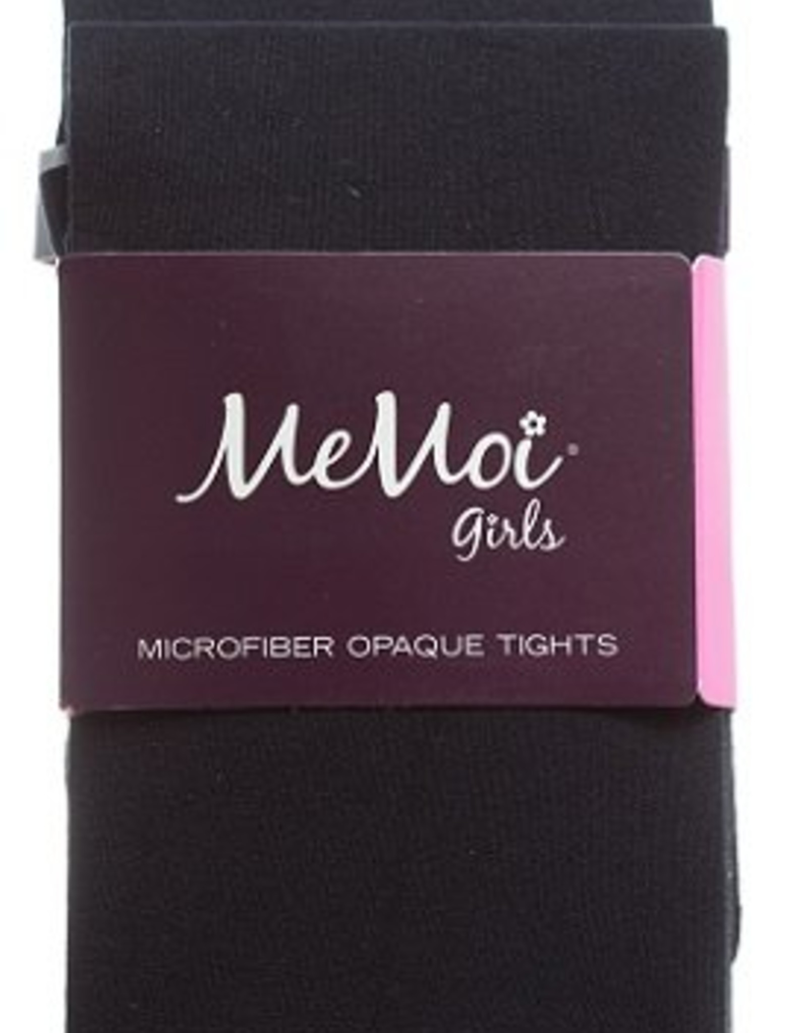 Memoi Memoi Girls Microfiber Opaque 2-Pack